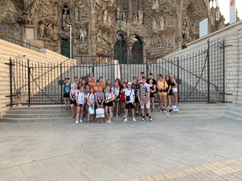 Exploring culture, design and art in Barcelona!