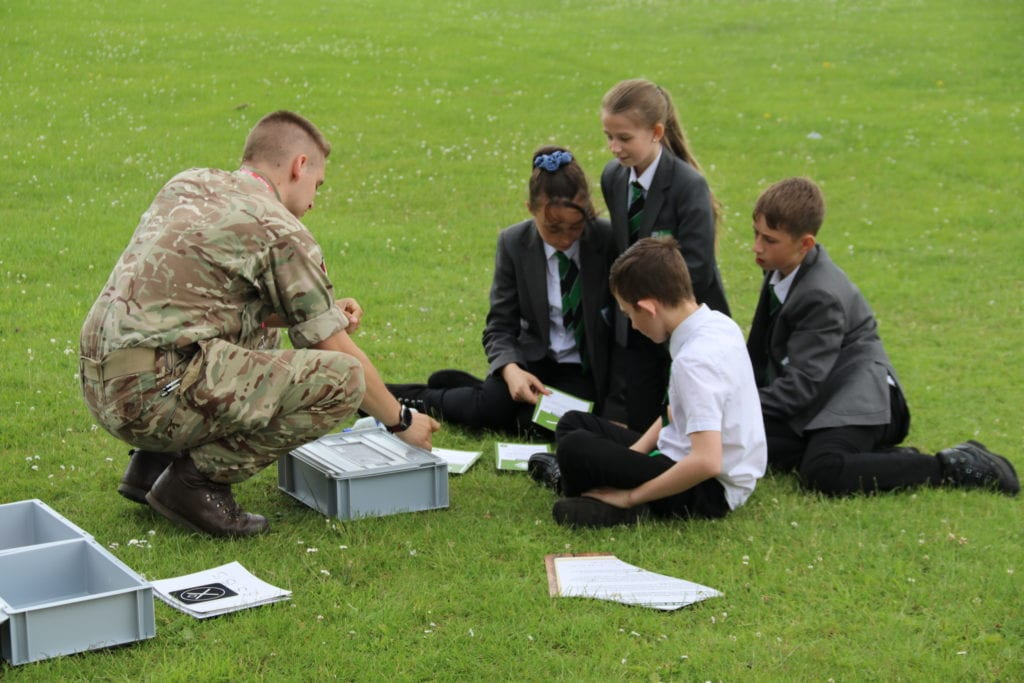 Holgate students find out more about careers in the army