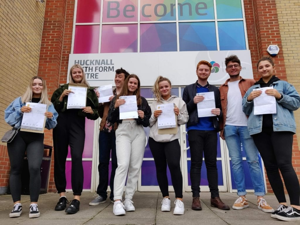 Holgate students celebrate excellent A Level results