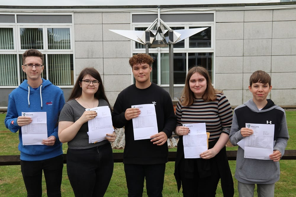 Holgate students celebrate as GCSE results revealed